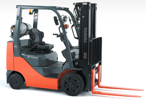 Toyota Rolls With The First 4 Way Suspension Seat Forklift