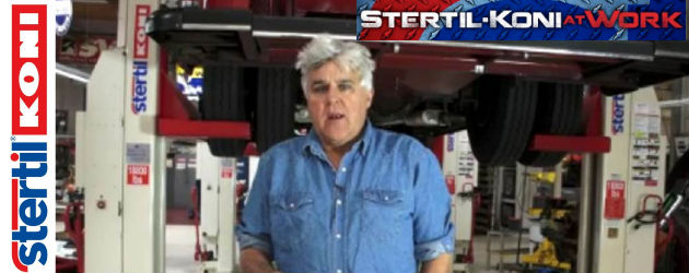Jay Leno with Stertil-Koni Lifts