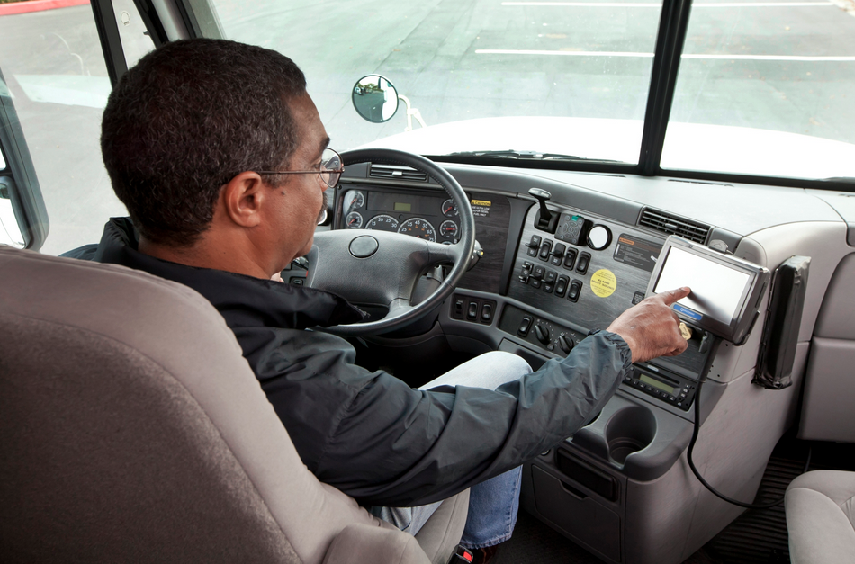 Use Of Electronic Truck Logging Jumps To 35 Study Says