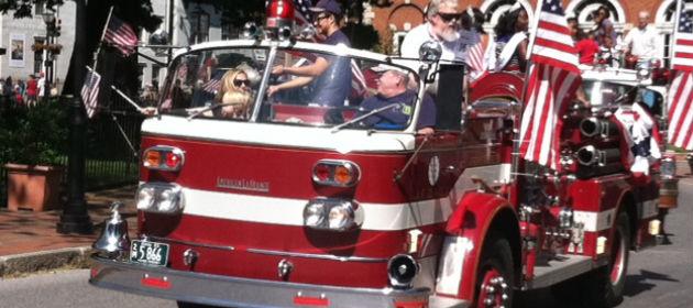 Memorial Day Fire Truck