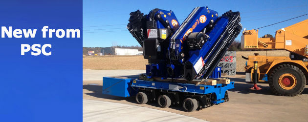 Psc Unveils Compact And Powerful Spmt 600 Trailer Fleet