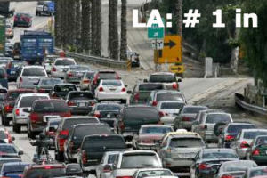 New Study Shows LA, San Francisco, Honolulu Most Congested Cities in U.S.