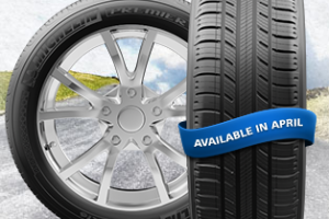 New Tire from Michelin with EverGrip™ Technology Prolongs Grip When Worn