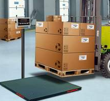Floor Scale From Alliance Scale Validates Shipping Weights