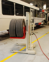 High Lift Wheel Dolly Reduces Fleet Maintenance Injuries, Increases Alignment Precision