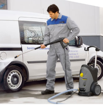 Karcher Commercial Cold Water Pressure Washer