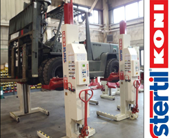 Strong Growth in Orders of Stertil-Koni Forklift Adaptors
