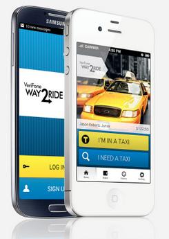 Philadelphia taxis fleet turns to mobile app from verifone fleet