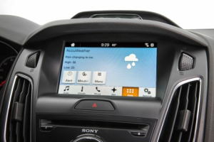 Ford and AccuWeather Bring Forecasts Directly to the Dashboard