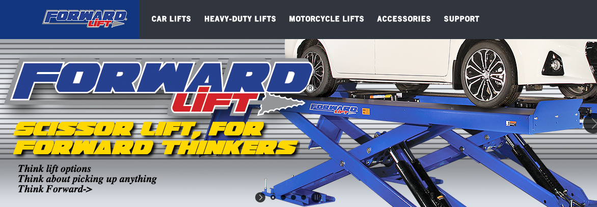 Forward Lift Redesigns Website
