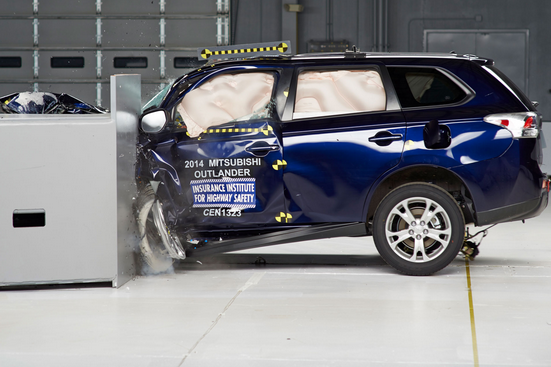 IIHS crash test