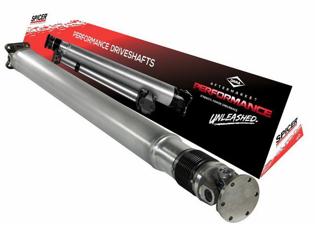 Dana Introduces Spicer® One-piece Aluminum Driveshaft for Ford Mustang