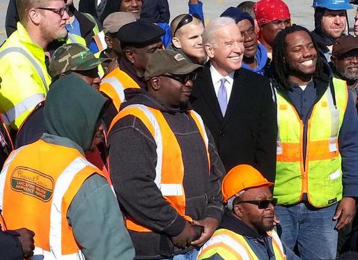 Joe Biden Joins Secretary Fox to Emphasize Infrastructure