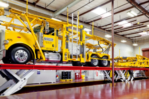 Large Auto Hauler Taps Stertil-Koni for New Fleet Maintenance Facility