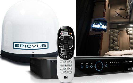 750 Truck Fleet Tunes into EpicVue Satellite TV System to Boost Driver Retention