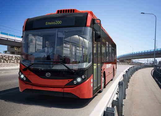 BYD and ADL Partner on Europe's Largest Electric Bus Fleet