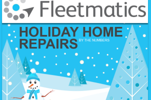 Fleetmatics Research Shows 50 Million Households Call Fleets for Repairs During the Holiday Season