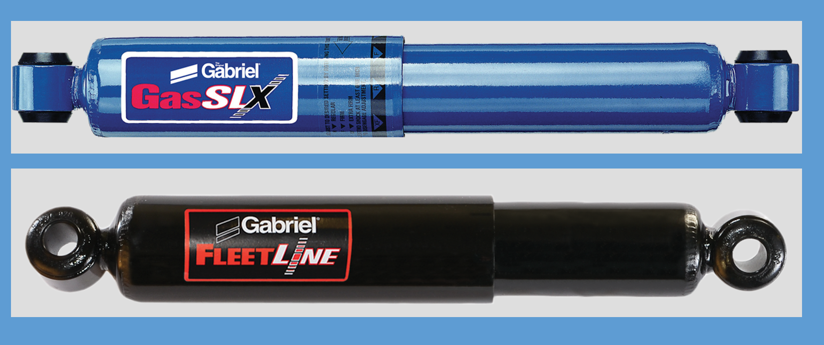 Gabriel® to Debut Advanced in FleetLine® and GasSLX® Shocks at HDAW 2016