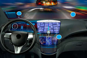 Automotive Display Systems to Get Big, Then Bigger