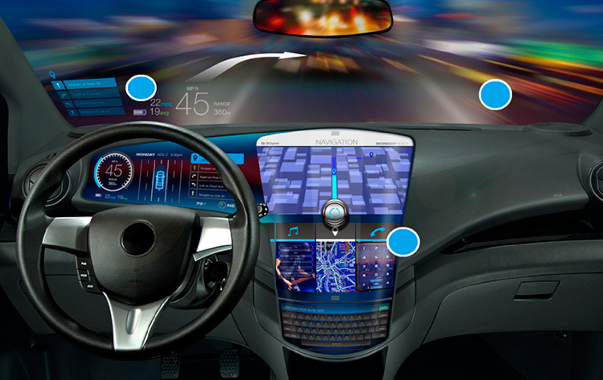 Automotive Display Systems To Get Big Then Bigger