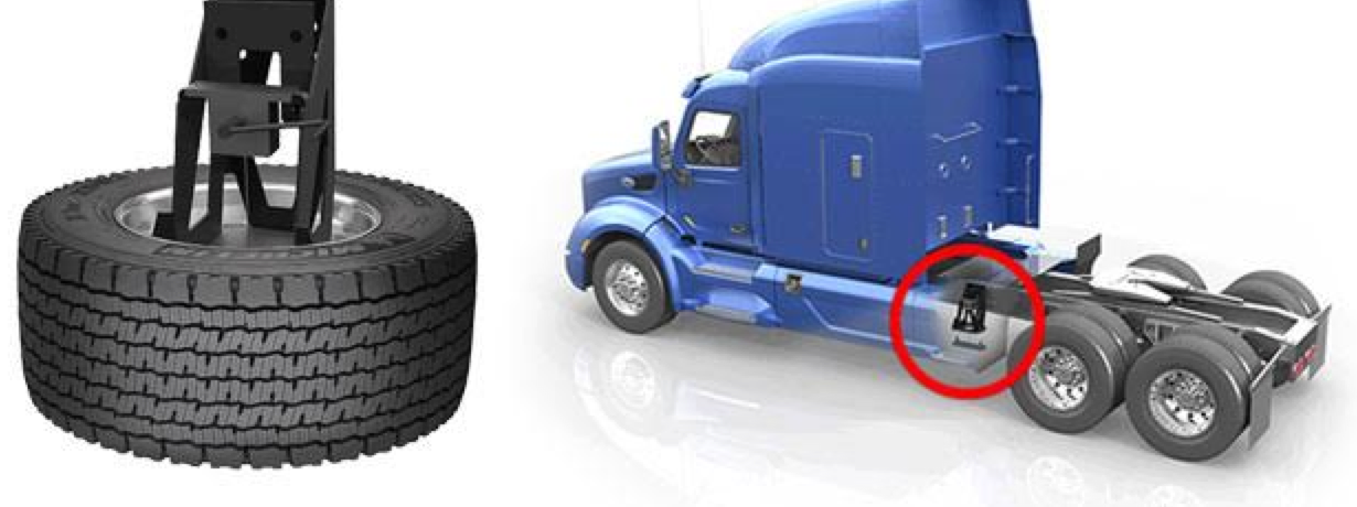 tires for heavy trucks