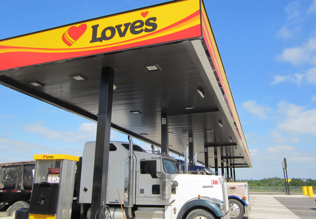 Love's Travel Stops to Purchase Trillium CNG