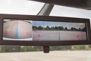 New Smart Rearview Mirror from Ficosa