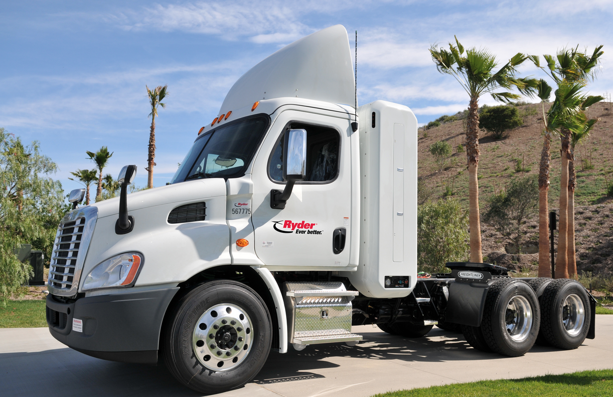 Ryder Fleet Tops100 Million Natural Gas Vehicle Miles
