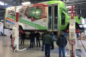 Major Texas Transit System Taps Stertil-Koni for HD Vehicle Lifts