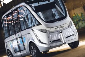 First Fully Autonomous, Driverless Public Transport Travels 28 MPH
