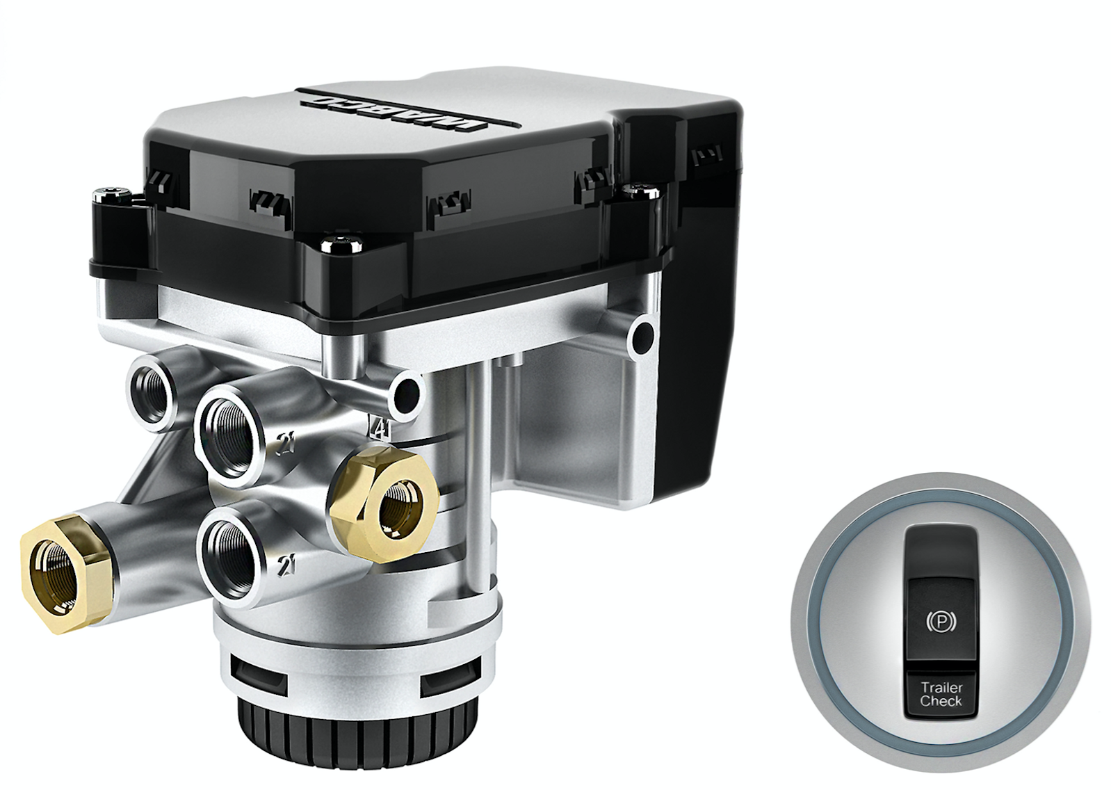 Wabco Unveils First Stand Alone Parking Brake Control For