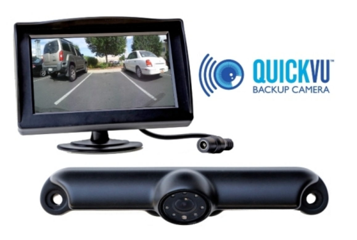 New Commercial Rearview Camera Installs in Minutes