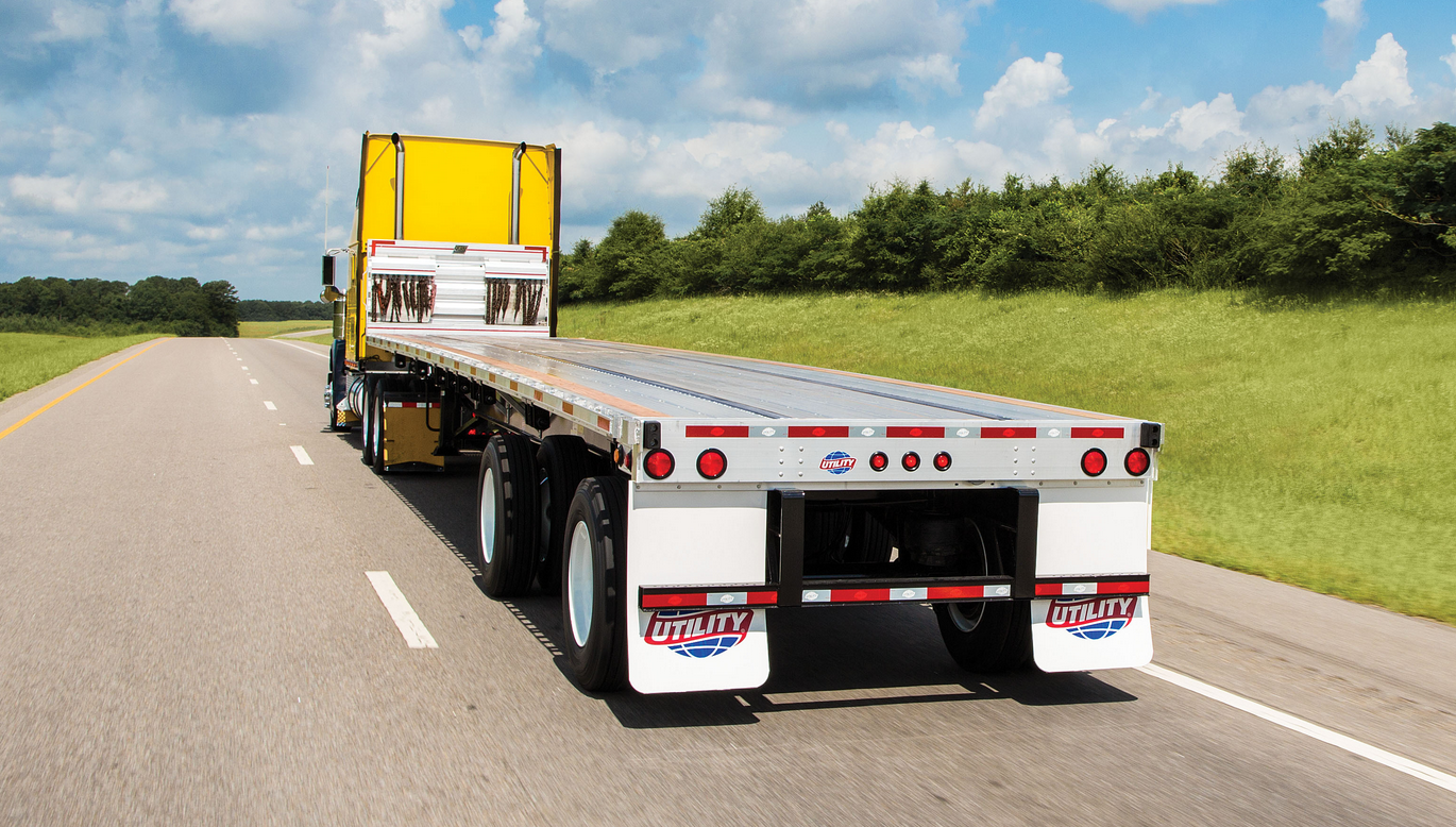Next Gen Flatbed Trailer Debuts from Utility Trailer Manufacturing