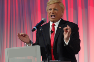 Donald Trump Impersonator to Provide Lift at SEMA Show at Stertil-Koni Booth #10527, Las Vegas, Nov. 2-3