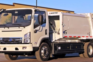 First All-Electric Refuse Truck from  BYD and Wayne Engineering
