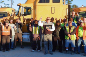 Trucking Group Gives Safety Awards to Bulldog Hiway