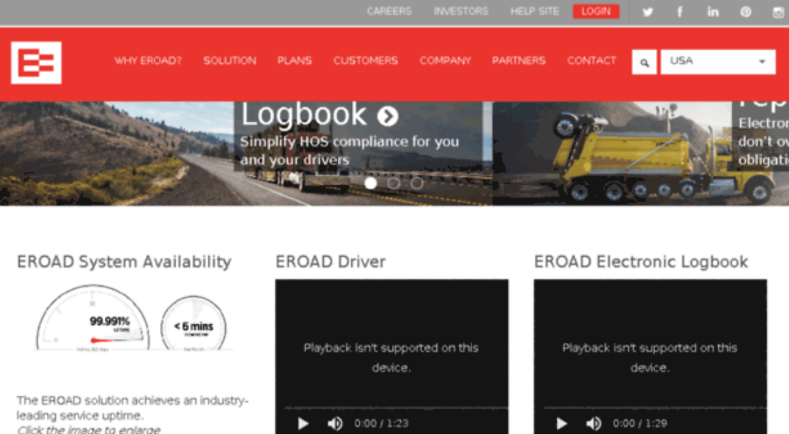 Tax Filing For Carriers Streamlined By EROAD