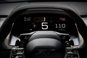 Vehicle Dashboards Go Digital, Emulate Race Cars with New Ford Entry