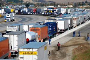 List of Top 100 Truck Traffic Bottlenecks Released