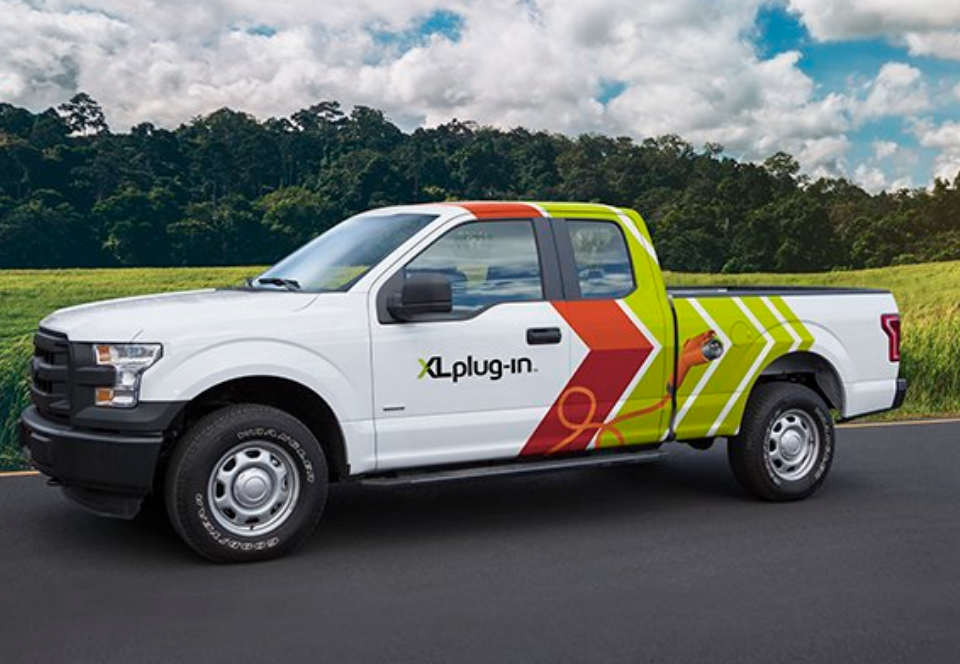 xl hybrids debuts xlp plug in hybrid upfit for ford f 150 fleet news daily. Black Bedroom Furniture Sets. Home Design Ideas