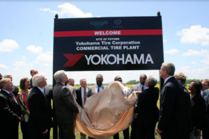 Yokohama Rubber Co. Celebrates 100th Anniversary