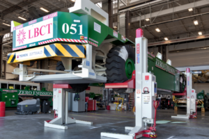 Long Beach Container Terminal Taps Super Heavy Duty Vehicle Lifts from Stertil-Koni