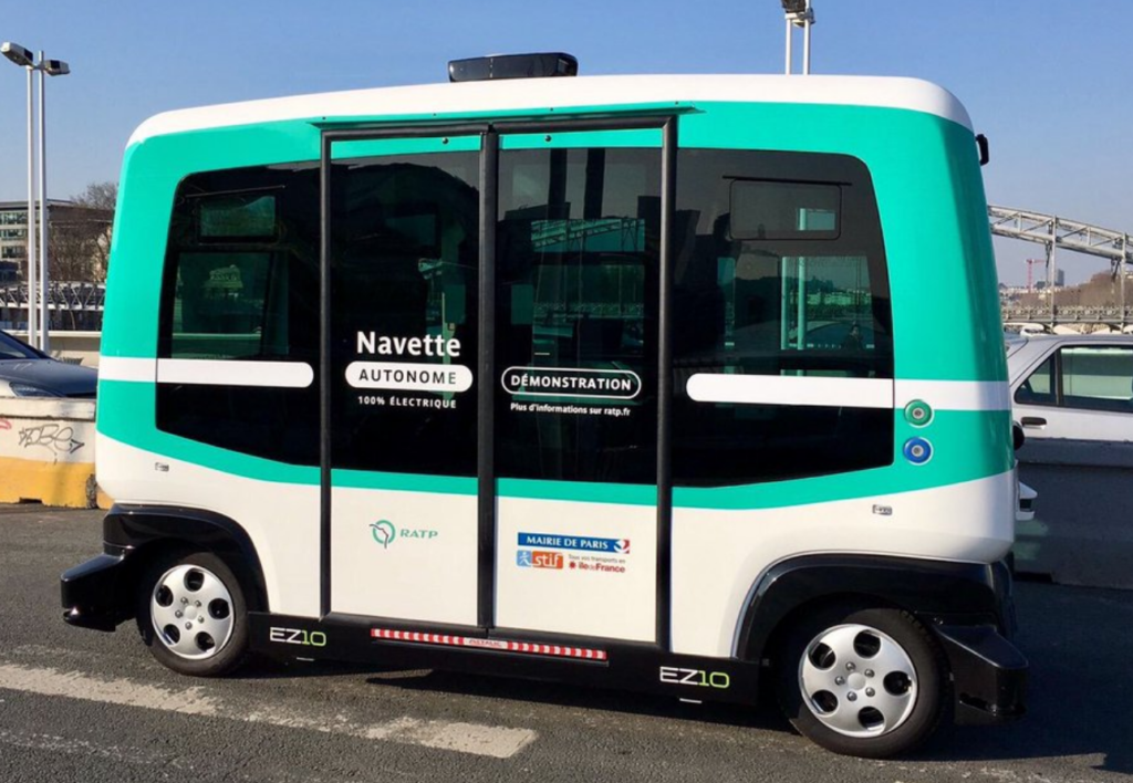 12-Person Electric Autonomous Min-Shuttle Demoed in Texas