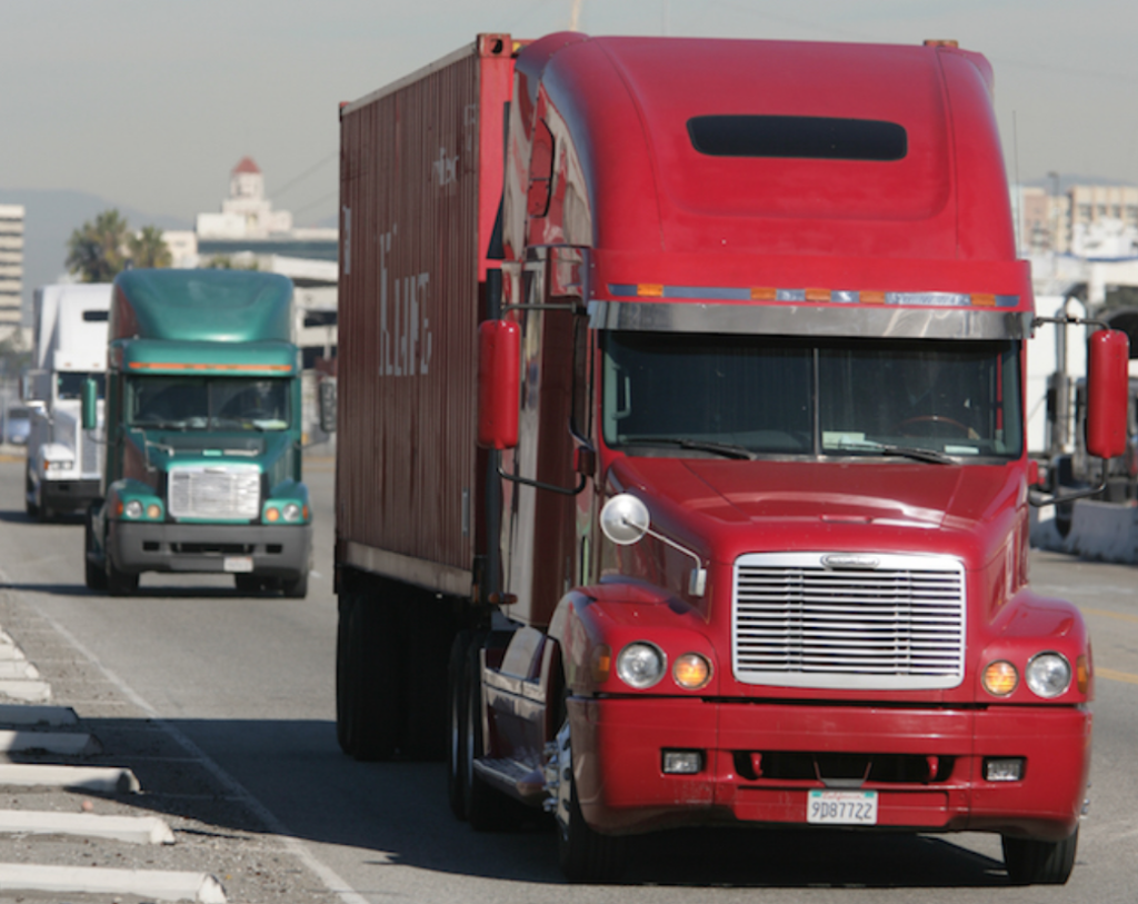 Spot Truckload Rates Trend Up