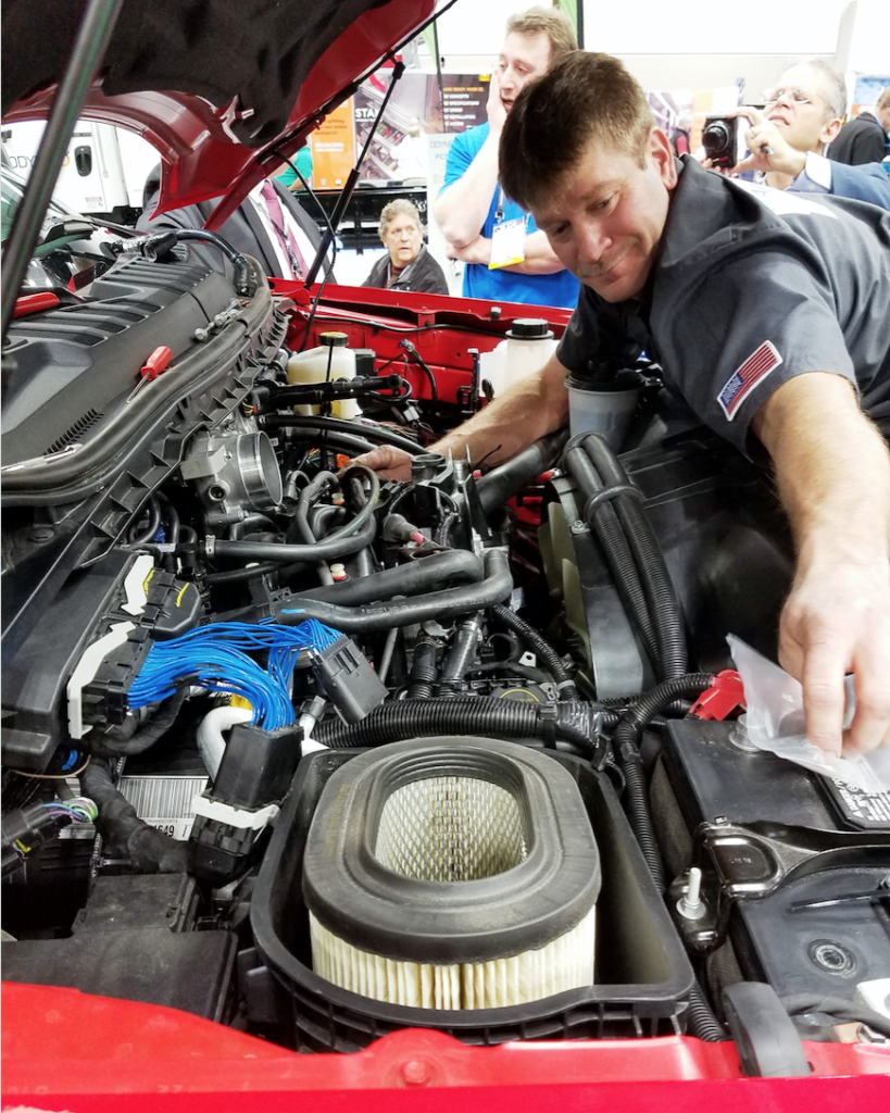 F-250 Conversion to Propane Autogas in Record Time at Work Truck Show