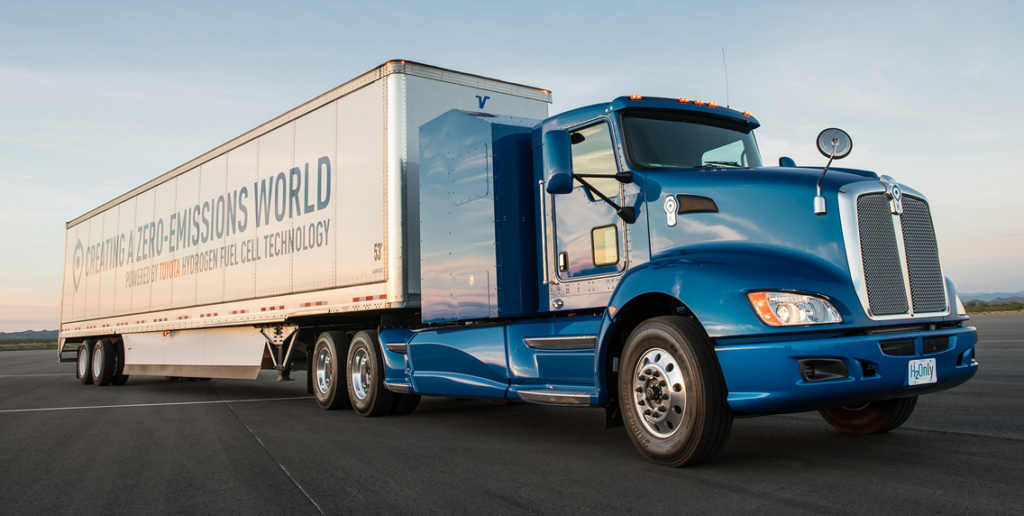 Toyota to Test Hydrogen Fuel Cell Systems in Heavy Duty Truck Applications