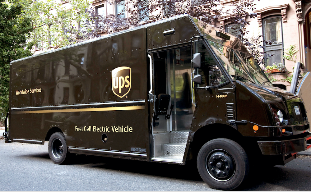 Fleet Management Software >> UPS Showcases Extended Range Fuel Cell Electric Delivery ...