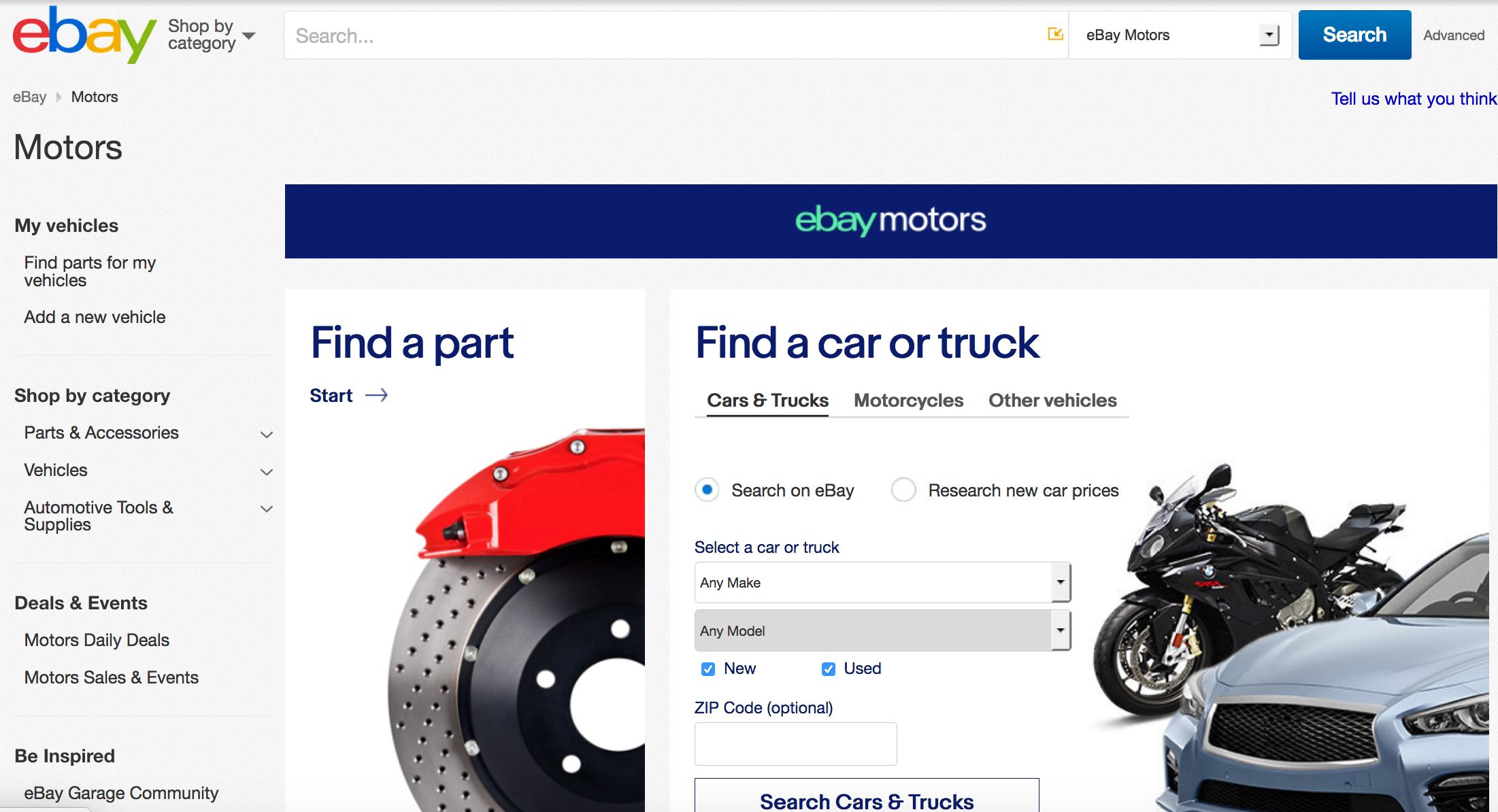 eBay Taps TrueCar Services for New Car Buying Program | Fleet News Daily