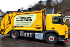 Volvo Tests Self-driving Refuse Truck in Urban Environment