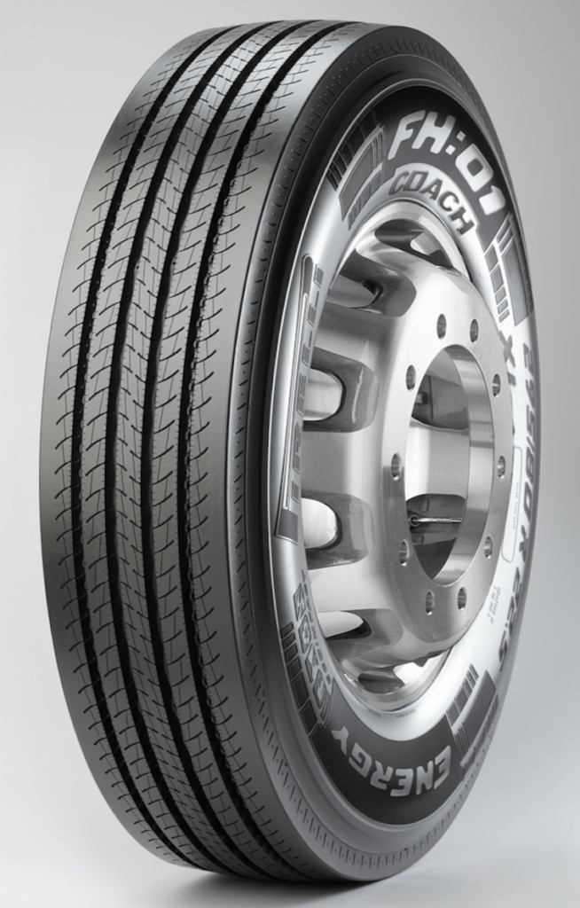 New MotorCoach Tire for Long-haul and Regional All Position Applications